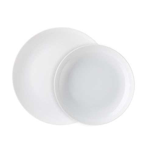 CUCINA | BASIC WHITE Dinner set 2 pcs.