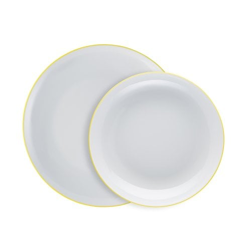 CUCINA | COLORI YELLOW Dinner set 2 pcs.