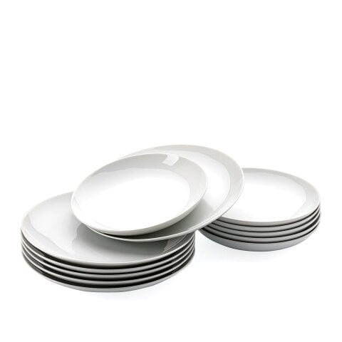 CUCINA | BASIC WHITE Dinner set 12 pcs.