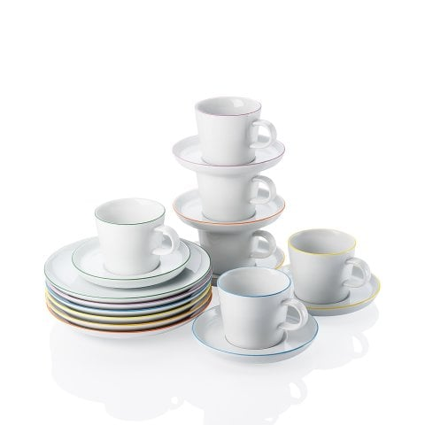 CUCINA | COLORI Coffee set, gift-boxed 18 pcs.