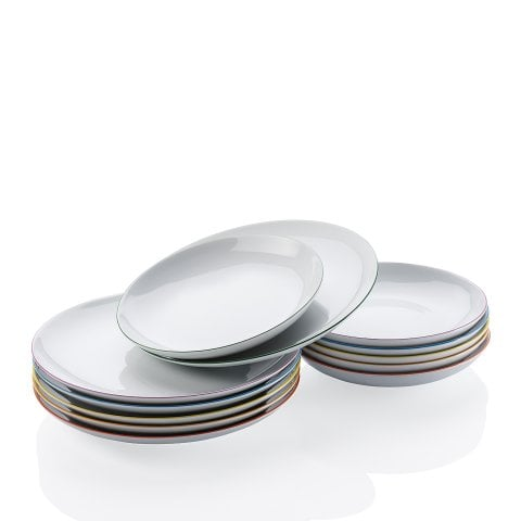 CUCINA | COLORI Dinner set 12-pcs, gift-boxed
