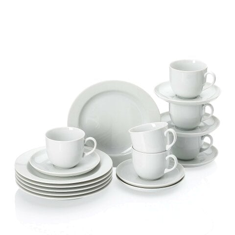 FORM 1382 | WHITE Coffee set, gift-boxed 18 pcs
