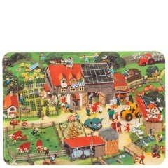KIDS DAILY | AUF DEM LANDE Non-slip table mat set