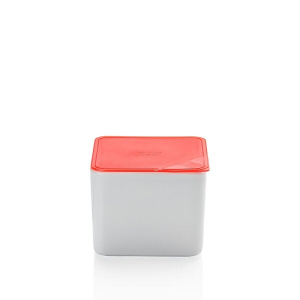 Bowl with lid, gift-boxed 15x15 cm / 2,00 l KITCHEN FRIENDS | RED