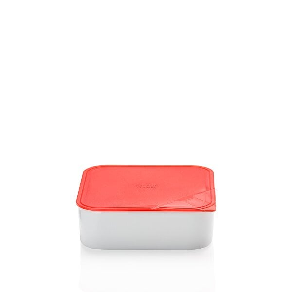 Bowl with lid, gift-boxed 18x18 cm / 1,20 l KITCHEN FRIENDS | RED