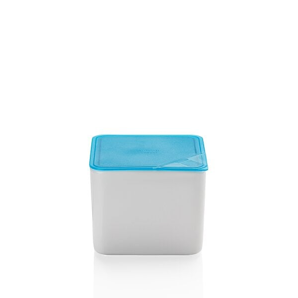 Bowl with lid, gift-boxed 15x15 cm / 2,00 l KITCHEN FRIENDS | TURQUOISE