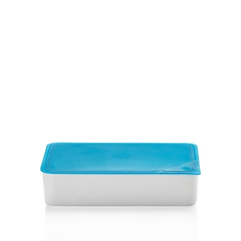 KITCHEN FRIENDS | TURQUOISE Bowl with lid, gift-boxed 15x25 cm / 1,40 l