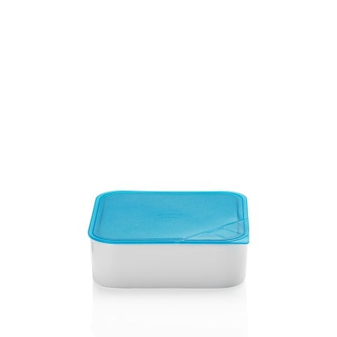 KITCHEN FRIENDS | TURQUOISE Bowl with lid, gift-boxed 18x18 cm / 1,20 l