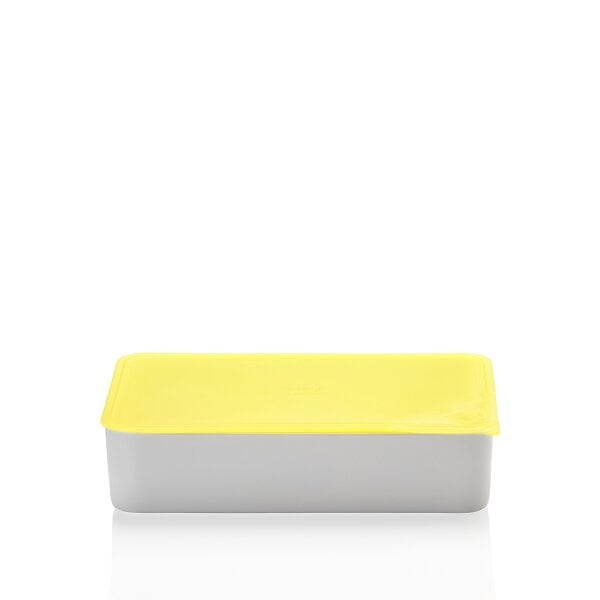 Bowl with lid, gift-boxed 15x25 cm / 1,40 l KITCHEN FRIENDS | YELLOW