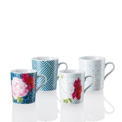 TRIC | VIVID BLOOM Set 4 pcs. Mug with handle