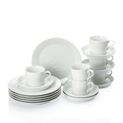 TRIC | WHITE Coffee Set 18pcs.